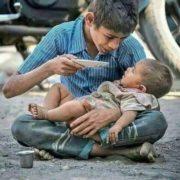 Te pedimos Dios por todos los niños del mundo para que no les haga falta nada 😥