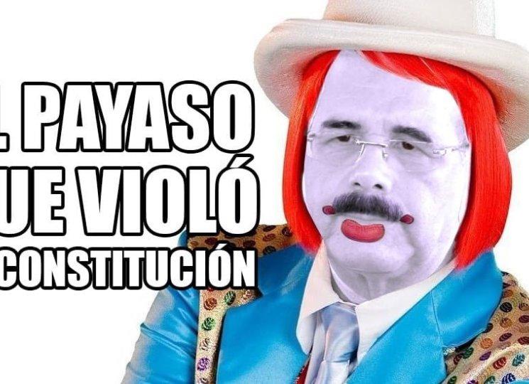 Photo of Usuarios de las redes comparan a Danilo Medina con el payaso Kanqui