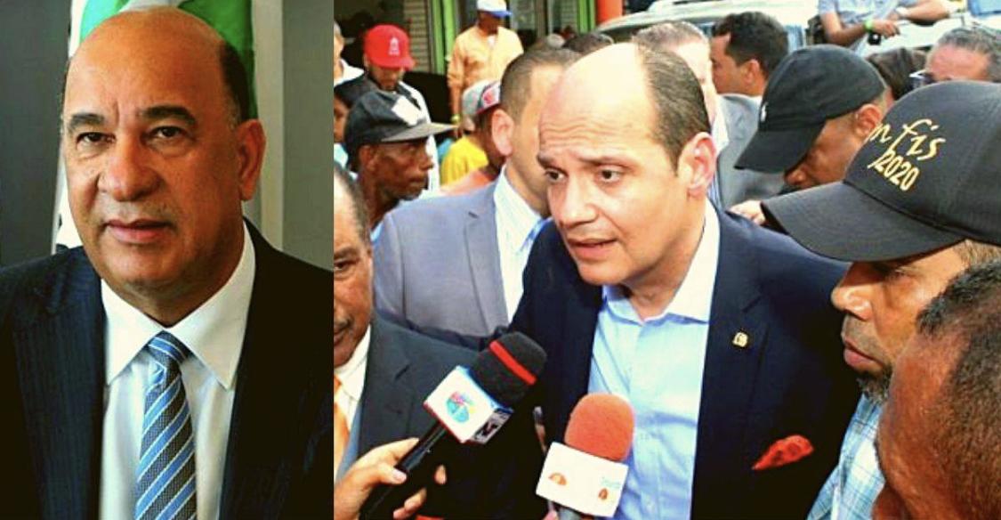 Photo of Miembros del PLD encabezados por Bautista Rojas desmantelan comando de campaña de Ramfis Trujillo