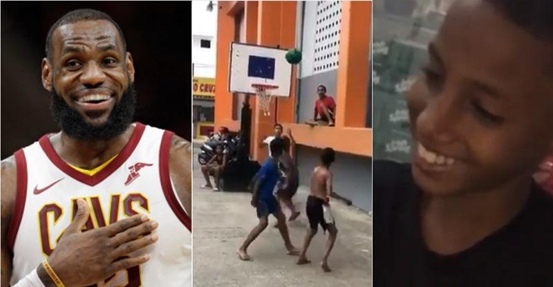 Photo of LeBron James lo quiere conocer