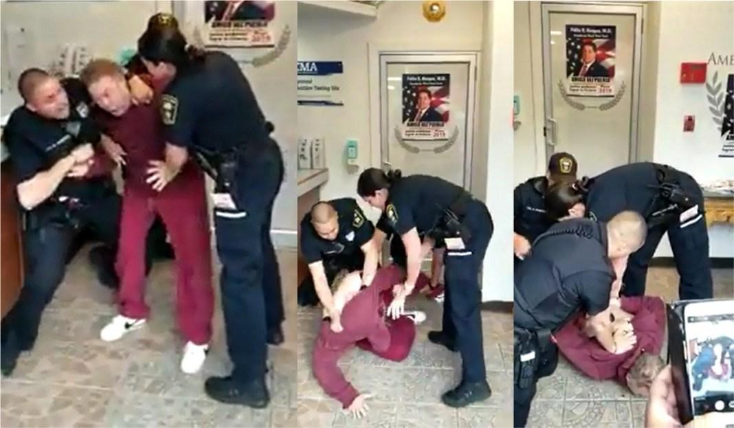 Photo of Apresan violentamente a doctor dominicano en NJ por hacer propaganda política y ruido