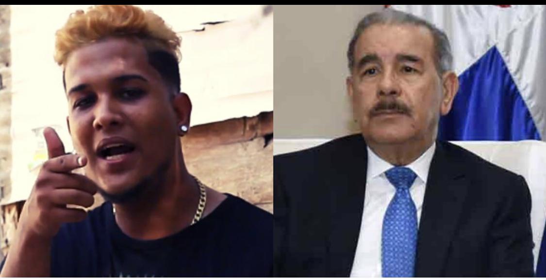 """Photo of Otro Rapero acaba con Danilo Medina: """"Ya se va acabar el relajo en las urnas voy a entrar bombas me parare en la rotonda con un peine de anaconda para encañonar al presidente cara a cara y que responda"""""""