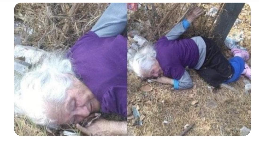 Photo of Familiares dejan abandonada en un basurero a anciana de 85 años de edad
