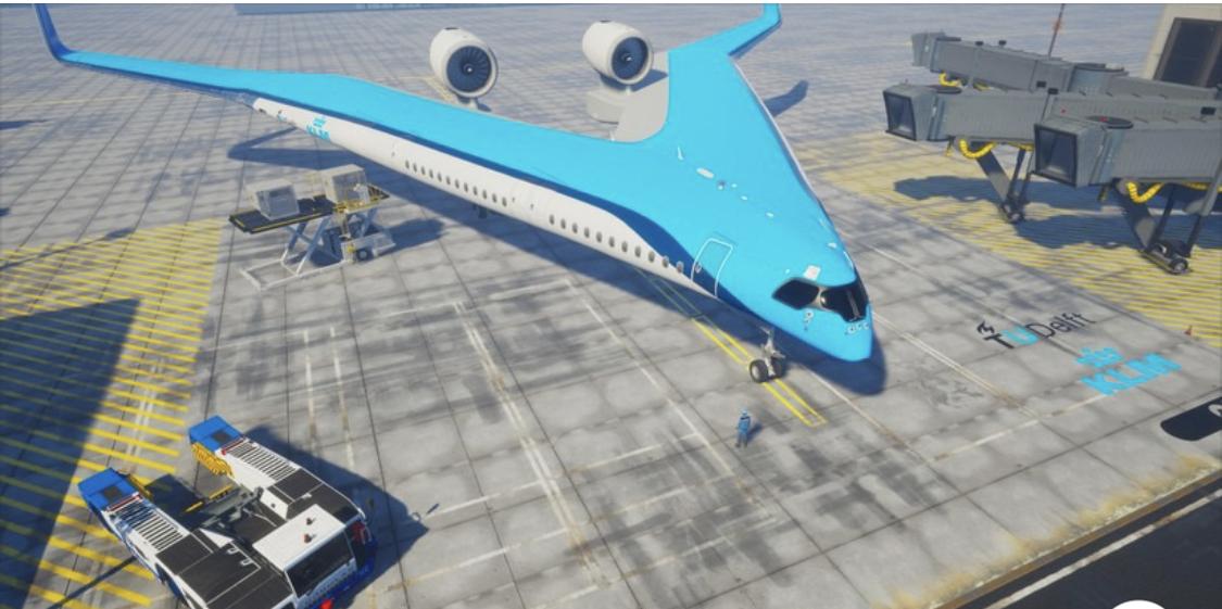 Photo of Asientos en las alas: ¿podría el Flying-V convertirse en el avión del futuro?