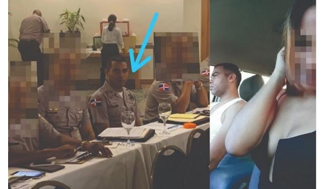 Photo of Revelan otro coronel que también estuvo con la menor lo suspenden de la Policía Nacional