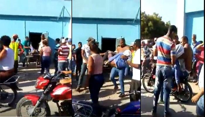 Photo of Se roban cadáver de morgue y se lo llevan entre dos en una motocicleta