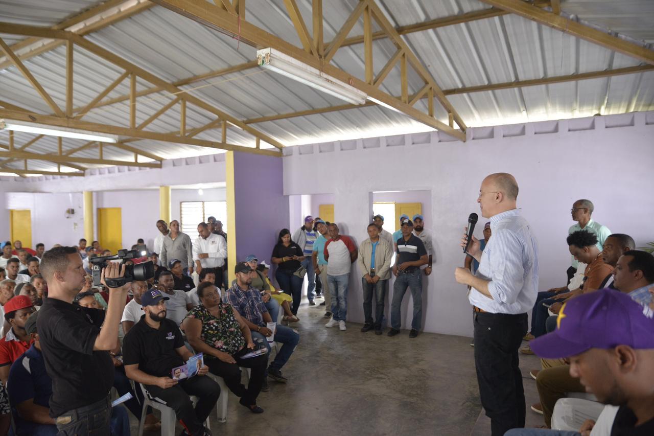 """Photo of Francisco Domínguez Brito: """"La política es para construir no para destruir"""""""