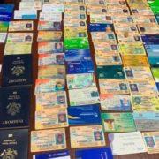 Atracador tenía 67 cédulas, 33 tarjetas y 27 seguros médicos de sus víctimas