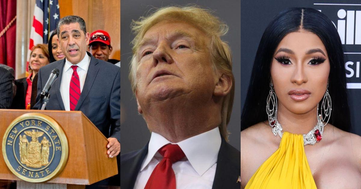 Photo of Cardi B recibe amenazas de BOMBAS luego de sus críticas al presidente Donald Trump y los republicanos, Adriano Espaillat pide que la protejan