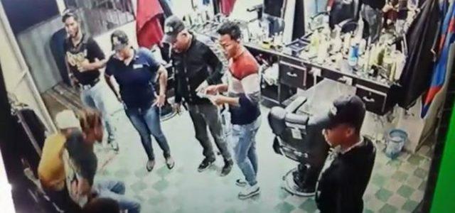 POR SEGUNDA VEZ: Interrogan a dos propietarios y un empleado de la barbería de Villa Vásquez