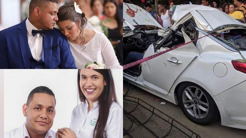 Photo of Llevaban cinco meses de casados médicos fallecidos en accidente de tránsito; ella dos meses de embarazo