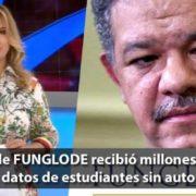 IGLOBAL de FUNGLODE recibió millones de Lotería usando datos de estudiantes sin autorización