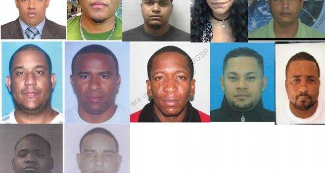 16 dominicanos son buscados por autoridades argentinas, estadounidenses y uruguayas