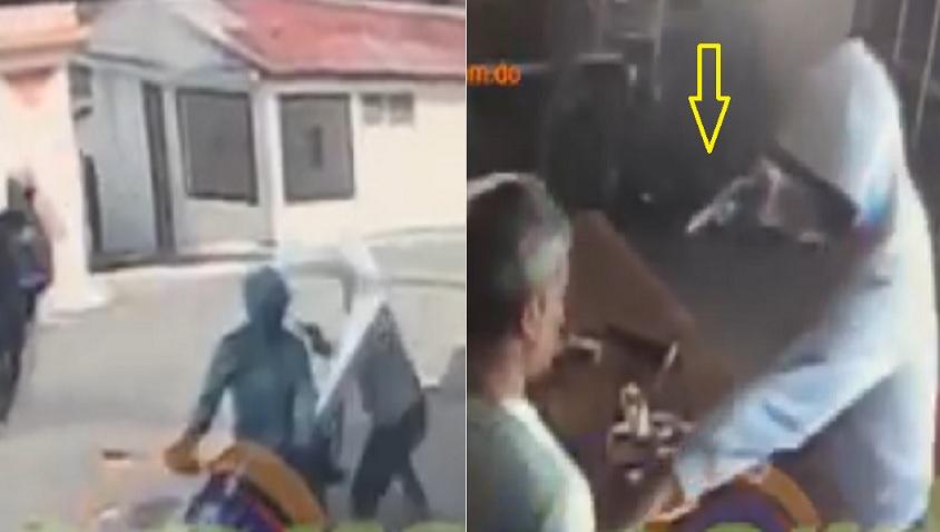 Photo of Captan momento en que encapuchados asaltan colmado en Villa Duarte SFM