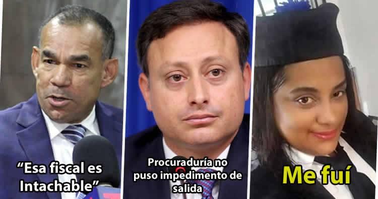 Photo of Procurador no puso impedimento se salida a fiscal acusada de poner droga en barbería