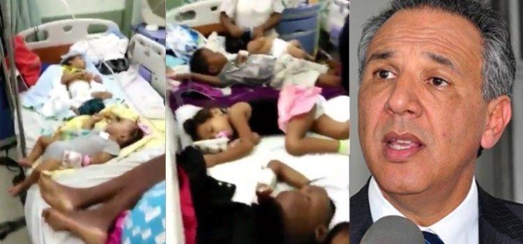 José Ramón Peralta dice «Danilo mandó a terminar rápidamente» hospital donde grabaron 5 niños en una cama