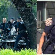 Policías de origen dominicano mueren quemados en brutal accidente en autopista de Manhattan