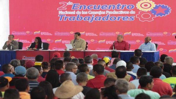 Maduro dice está «deseoso» de que convoquen elecciones en Venezuela