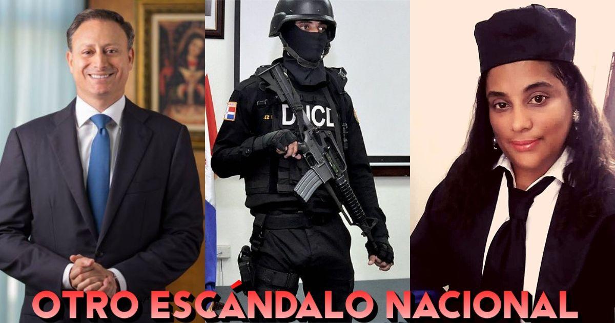 Photo of Autoridades ayudan a escapar del país a la fiscal investigada por poner drogas en Villa Vásquez