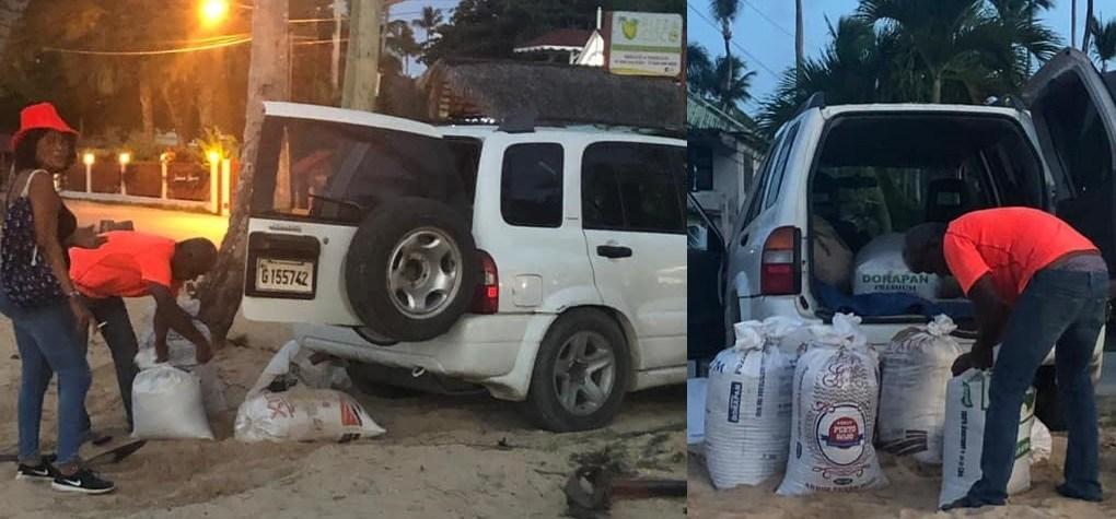 Photo of Denuncian robo y extracción de arena públicamente en playa Las Terrenas