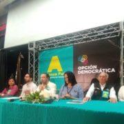 Alianza País y Opción Democrática anuncian su decisión de fusionarse en una sola estructura política
