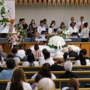 Triste funeral de dominicana en NY; bebé se recupera de sus quemaduras