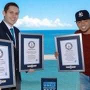 Ozuna logra cuatro récords Guinness