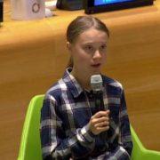 Greta Thunberg lleva a ONU mensaje climático de millones de jóvenes