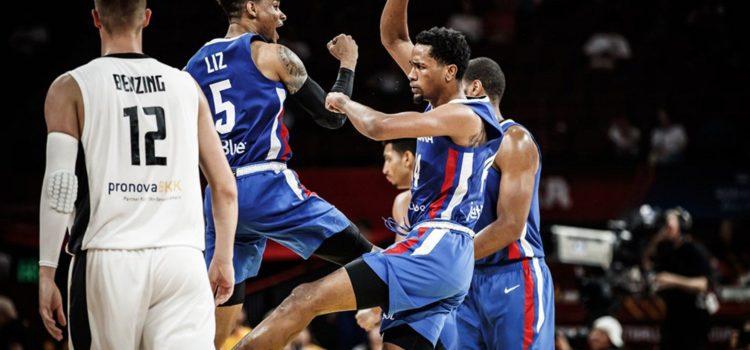 RD gana a Alemania en el Mundial de Baloncesto y clasifica