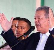 """Leonel reitera que hará un """"gobierno incluyente"""" con todos los peledeistas"""