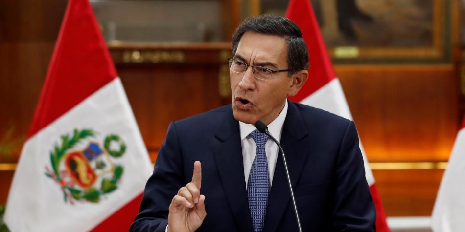 Photo of Presidente de Perú anuncia disolución del Congreso de Perú y convoca a elecciones legislativas