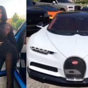 El auto de 3 millones de dólares de la socialité Kylie Jenner