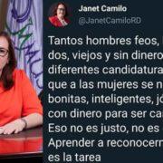 Ministra de la Mujer dice hombres feos, brutos, gordos, viejos y sin dinero aspiran a candidaturas, pero a las mujeres le piden lo contrario