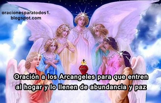 Photo of Oración a los Arcángeles para atraer la abundancia y paz al hogar