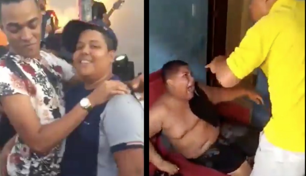 Photo of un padre que azota a su hijo por bailar con un hombre genera indignación