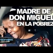 Madre de Don Miguelo vive en la pobreza vendiendo café