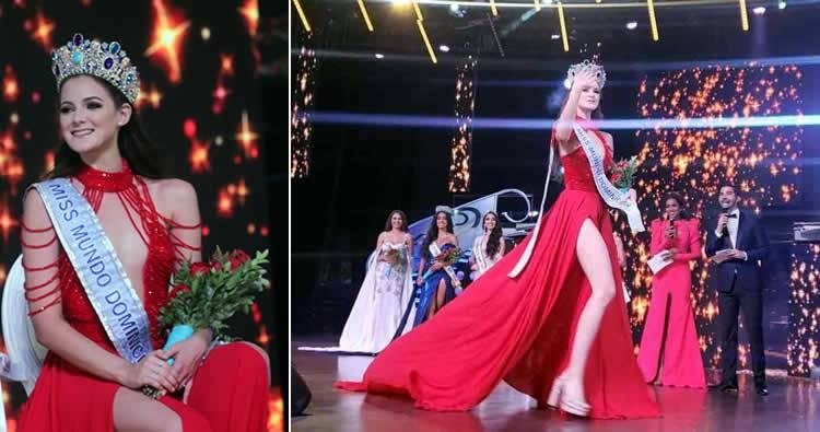 Photo of Alba Marie Blair es la nueva Miss Mundo Dominicana 2019