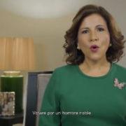 Margarita Cedeño: Este domingo, ve, te pido, vota 3, vota por Leonel