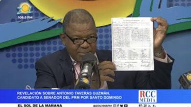 Photo of Martinez Pozo revela candidato a senador por el PRM Antonio Taveras es presidente comité de base PLD