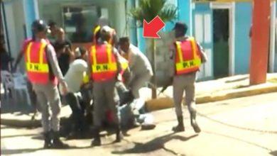Photo of muestra maltrato policial contra ciudadano en San Juan