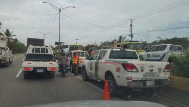 Photo of Dos policías muertos en un accidente ocurrido en autopista Las Américas