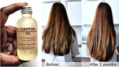 Photo of Aprende a aplicar el Aceite de Castor mezclado con este ingrediente, para alisar, crecer y dar volumen a tu pelo