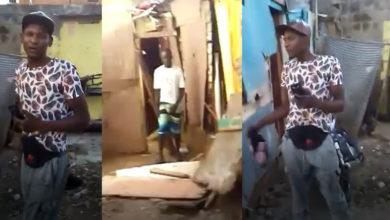 Photo of Mujer denuncia que haitianos invadieron el patio de su casa y la tienen amenazada