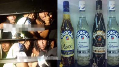 Photo of Se los llevaron presos por estar bebiendo hoy sábado en Santiago