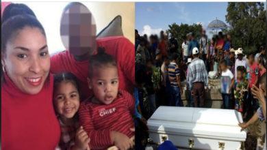 Photo of Sepultan dominicana y sus dos hijos asesinados en EEUU