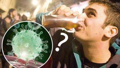 """Photo of Según estudio: el """"coronavirus"""" no te ataca si estás borracho"""