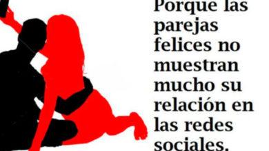 Photo of Las parejas felices no hablan en redes sociales sobre su relación