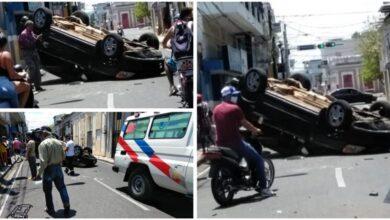 Photo of Periodista de la Vega sufre aparatoso accidente