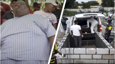 Photo of Le dan el último adiós a La Verdolaga; lo entierran ante decenas de personas