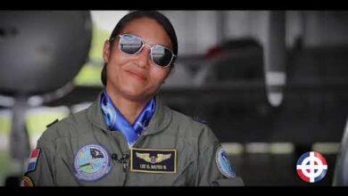Photo of La primera mujer militar en comandar un escuadrón de vuelo en RD